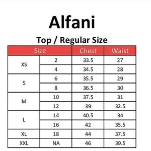 Alfani Tops - 💙ALFANI💙 printed kimono sleve top NWT Size 2